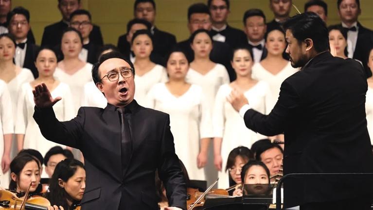 兰州音乐厅合唱团赴青岛唱响黄河最强音