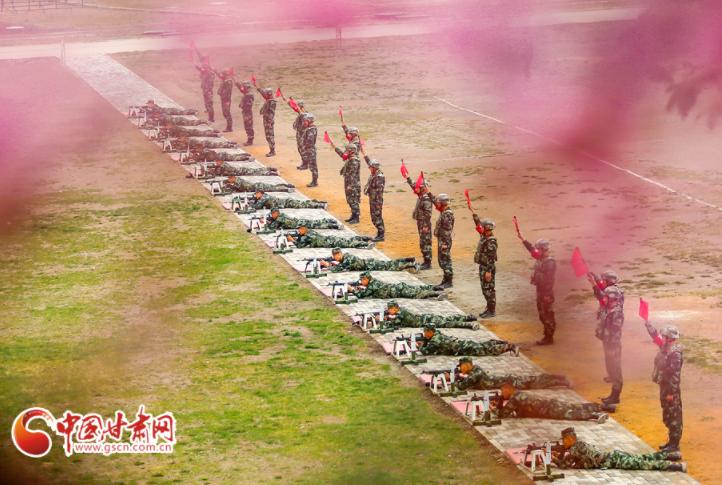 直通军考第一关!武警甘肃总队士兵招生军事考核火热展开
