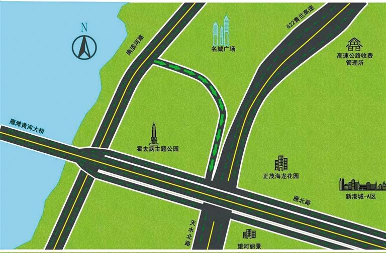 @驾驶员朋友 兰州城区这9条道路实行单向通行