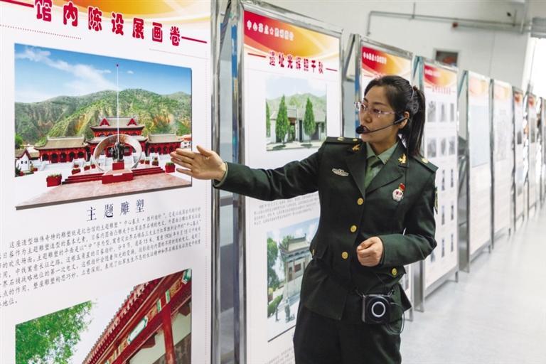 界石铺红军长征毛泽东旧居纪念馆宣讲团队走进兰州大学