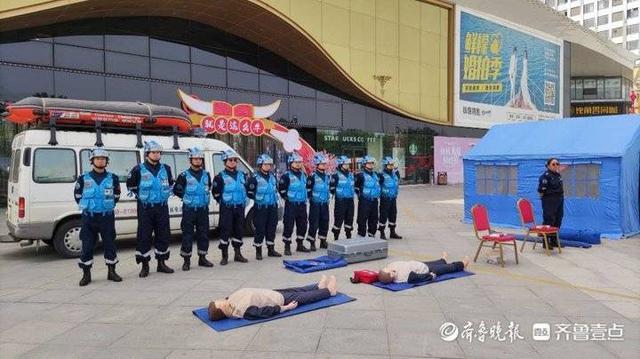 """泰安开展2021年""""5.12防灾减灾日""""集中宣传活动"""