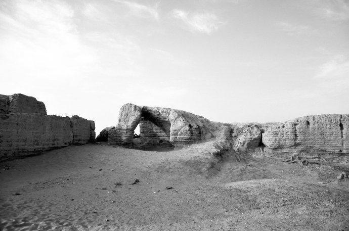 张掖黑水国遗址 千里河西的一座神秘古城