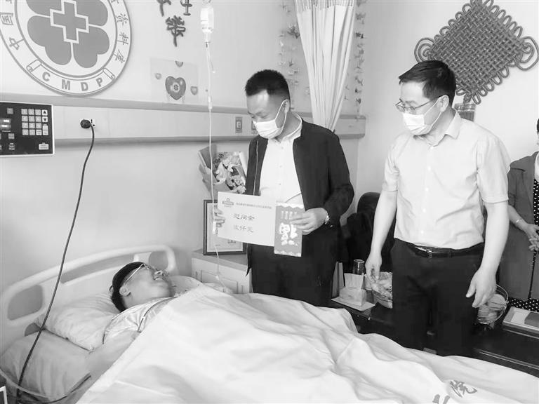甘肃省第42例造血干细胞捐献者成功完成捐献