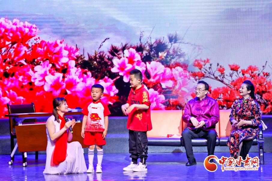 """2021年甘肃省""""最美家庭""""揭晓晚会在张掖举行(图)"""
