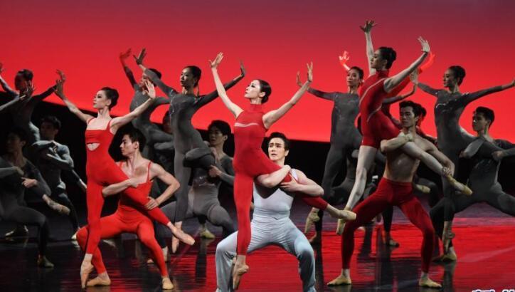 中芭原创交响芭蕾《世纪》在京首演