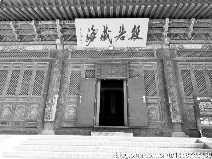 张掖大佛寺,南宋皇帝曾在此出家修行20多年