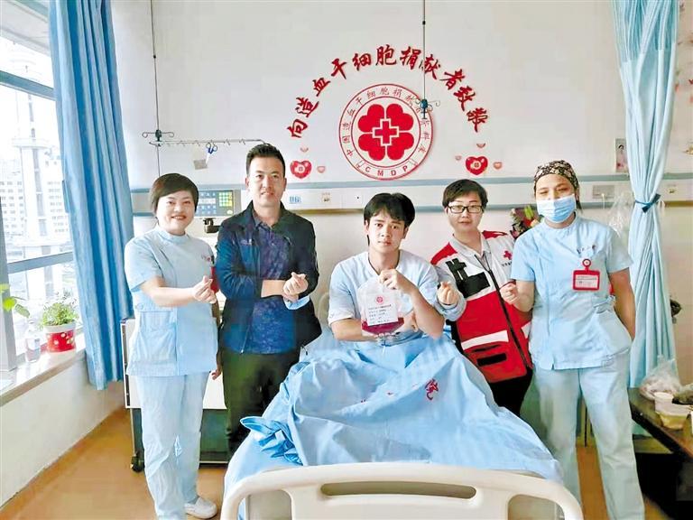 瑶族小伙卓大标成为甘肃省第43例造血干细胞捐献者