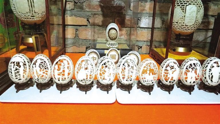 酒泉手艺人:蛋壳上的艺术家