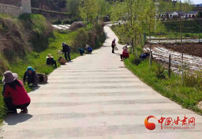 庄浪:人居环境整治见实效 乡村面貌焕然一新