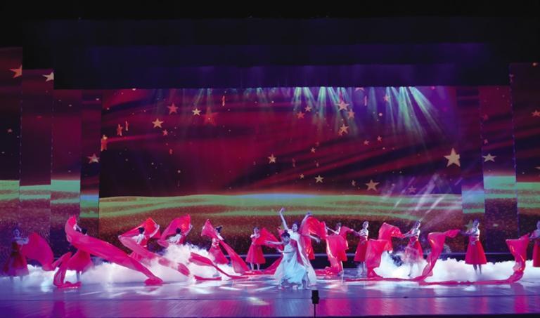 兰州市举办庆祝中国共产党成立100周年主题文艺晚会