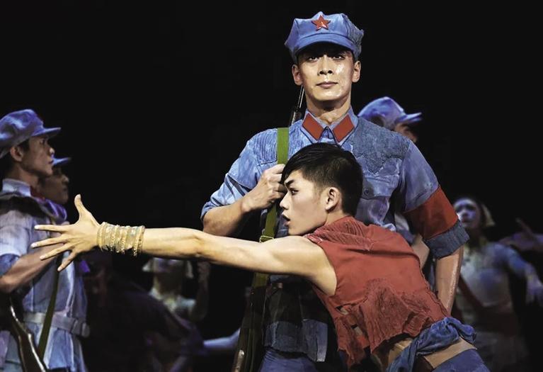 足尖上的红色情怀  原创芭蕾舞剧《闪闪的红星》30日金城献礼建党百年