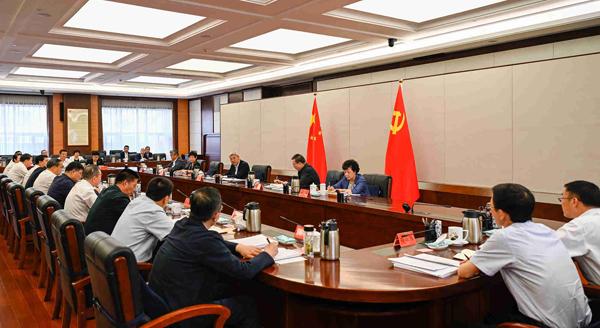 甘肃省文明委全体会议在兰州召开