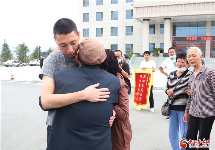 天水甘谷警方帮助失散28载父子终团圆