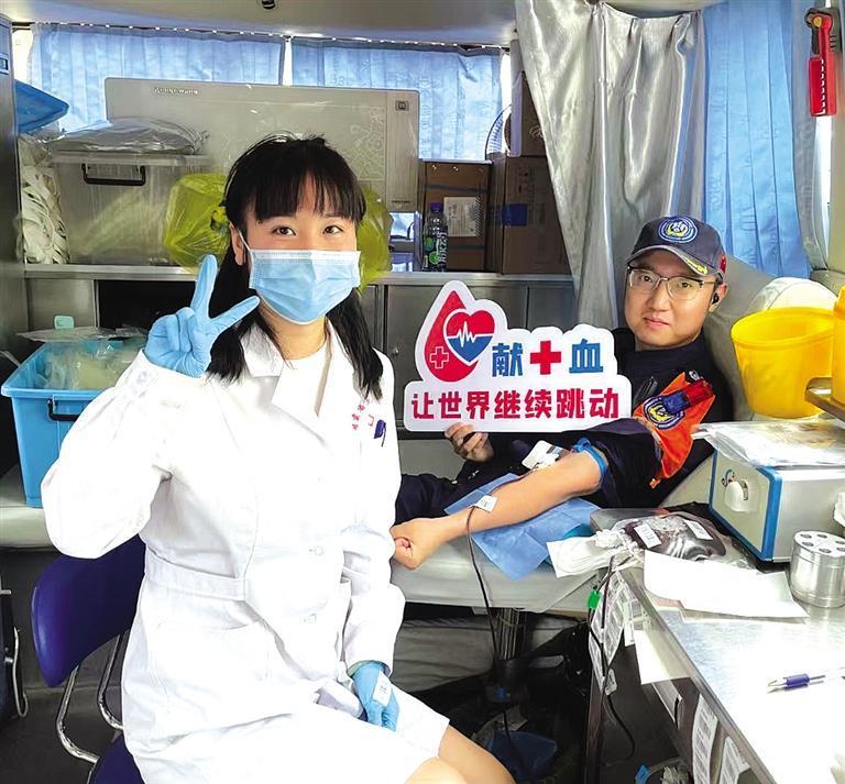 去年甘肃省共采集血液66.76吨22万余人无偿献血