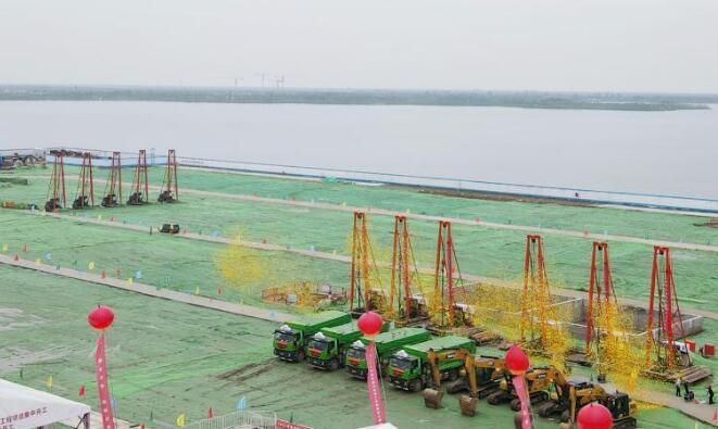 上海:临港新片区12个项目集中开工