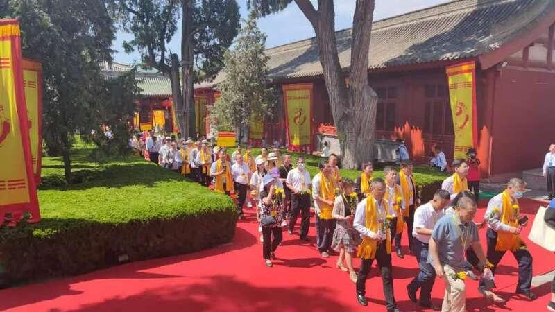 2021公祭中华人文始祖伏羲大典举行