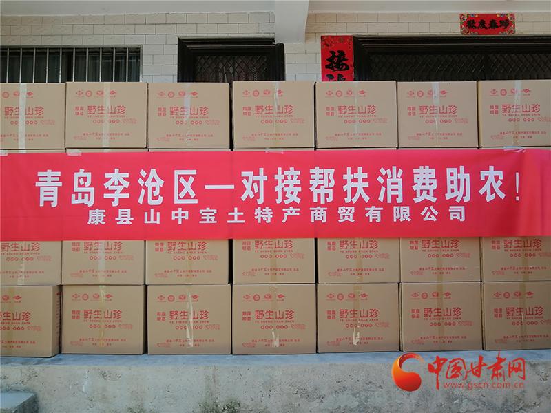"""康县: """"甘味""""农产品香飘青岛"""