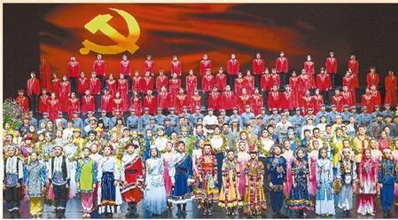致敬百年风华 共奏陇原乐章——甘肃省庆祝中国共产党成立一百周年文艺演出《致敬百年》侧记