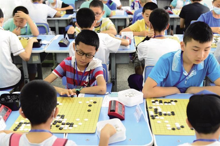 兰州市中小学生围棋赛落幕