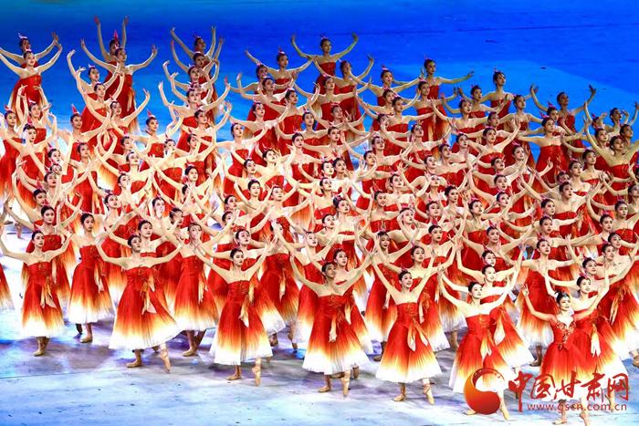 甘肃文艺工作者参演庆祝中国共产党成立100周年文艺演出《伟大征程》幕后的故事