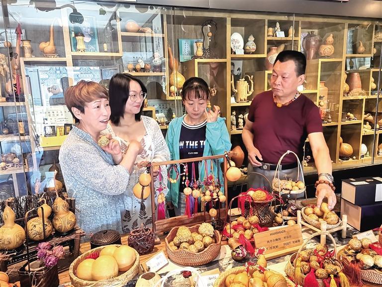 阮氏葫芦艺术馆被授予甘肃省工艺美术产业基地