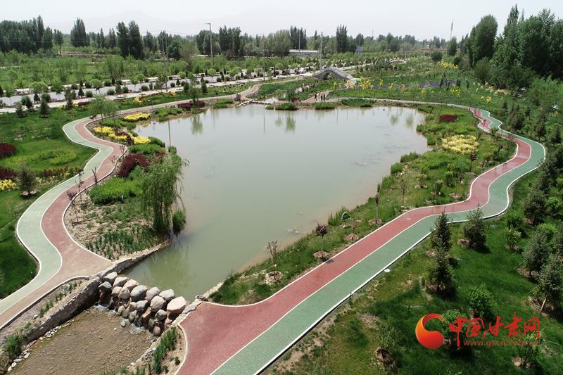 临泽:水系连通绘就生态水美新画卷