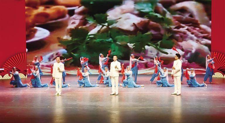 第四届中国西部优秀曲艺节目展演开幕