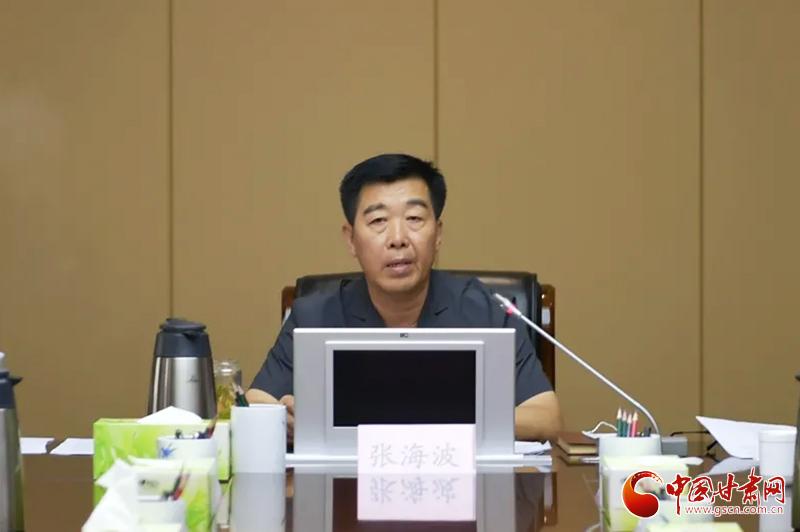 甘肃省法院召开队伍教育整顿专题党组会议