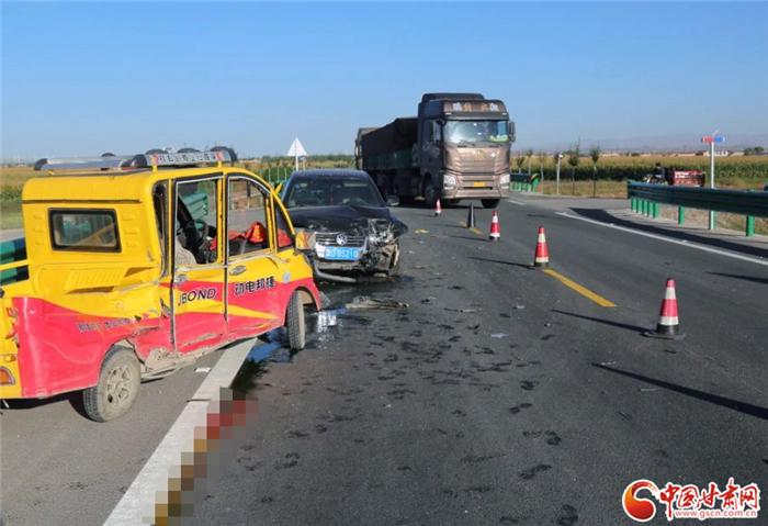 白银警方发布交通事故典型案例 警示驾驶员守法文明出行