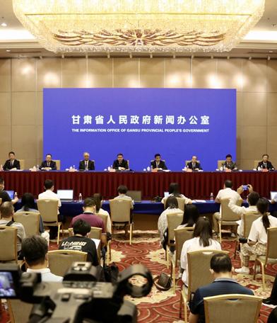 """甘肃全省经济高质量发展 """"一带一路""""建设成效显著(视频)"""