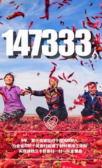 6年14万余名干部驻村帮扶在一线