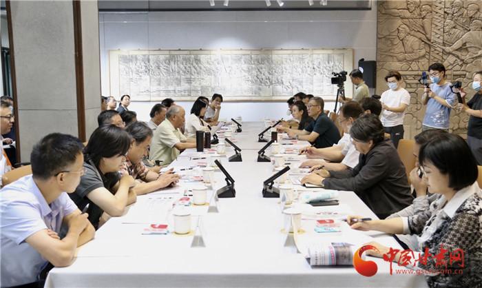 《解放兰州》大型浮雕展暨创作座谈会在西北师大举行