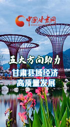 图解|五大方向助力甘肃县域经济高质量发展