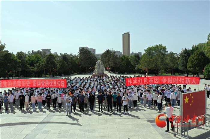 张掖高台:红色文化进校园 厚植爱党爱国情