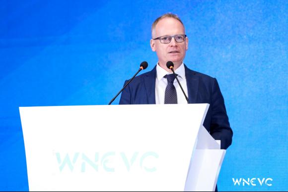 一汽-大众(技术)副总经理迪亚德出席第三届世界新能源汽车大会