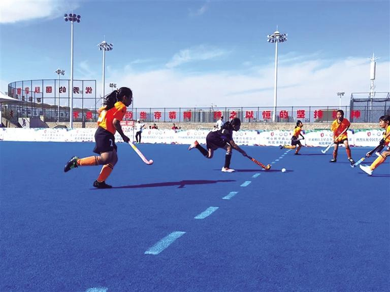 全国青少年曲棍球锦标赛在兰州收官