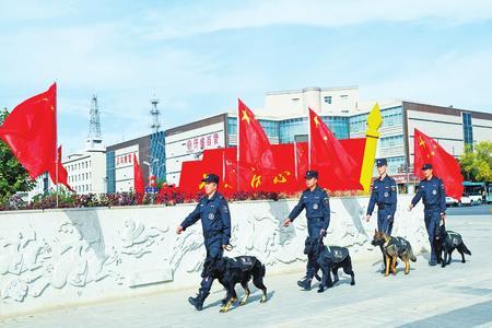 满城尽是中国红——欢度国庆之兰州见闻