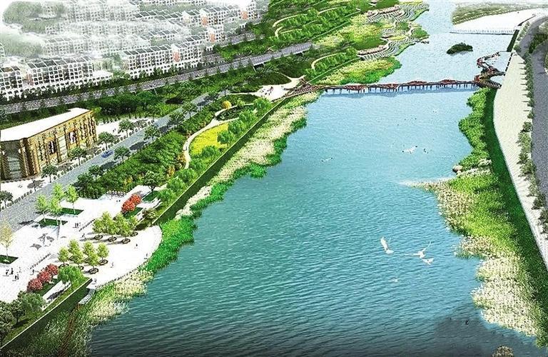 天水藉河三期景观工程计划年底投入使用