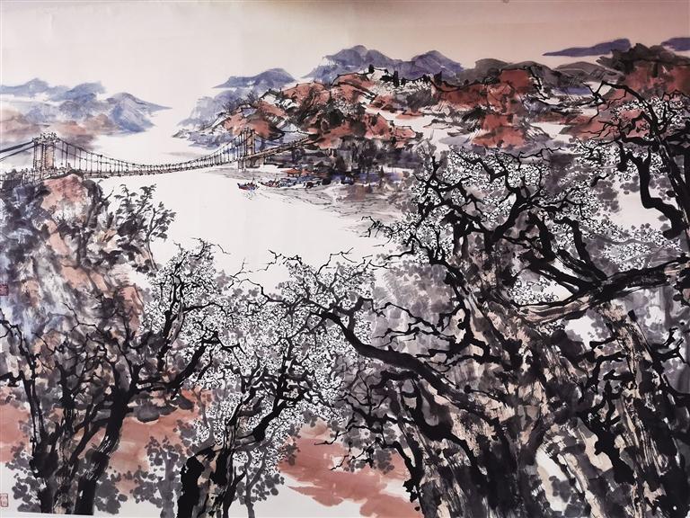 陇原风华——白恩平中国画小品山水沙龙在兰举行