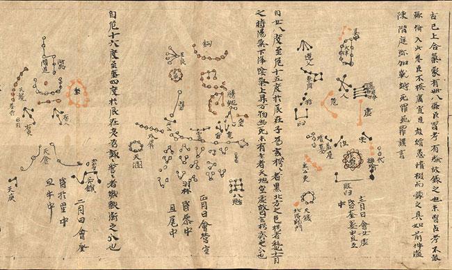 世界最早星图发现地甘肃敦煌建地基授时台