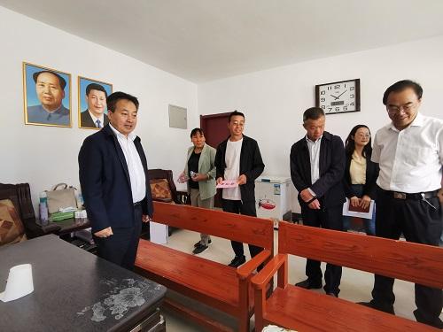 甘肃省残联到兰州新区舟曲县搬迁安置点调研残疾人保障和服务工作