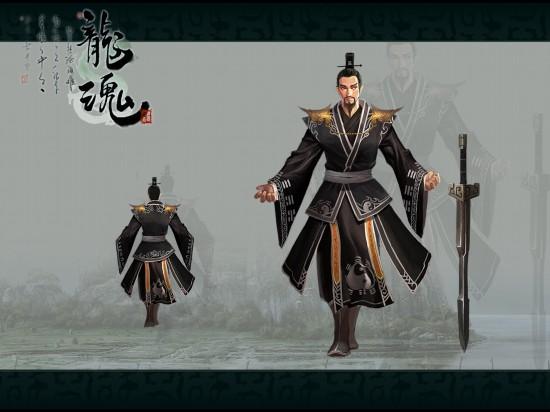 古代战争类网游《龙魂ol》游戏原画欣赏