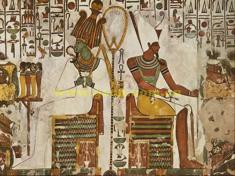 揭秘神秘的古埃及壁画