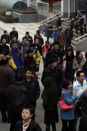 甘肃300多名考生昨在兰参加 卓越 联考