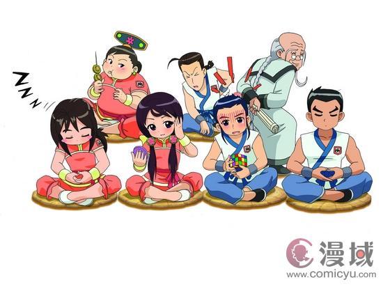 宫廷风少女动画《甜心格格》预告片首发